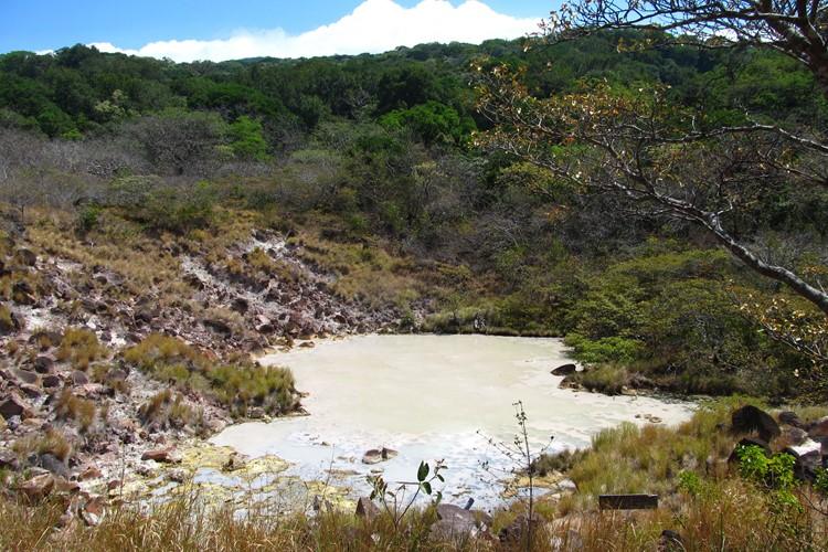 Reise Costa Rica - Schlammbad bei Rincon de la Vieja