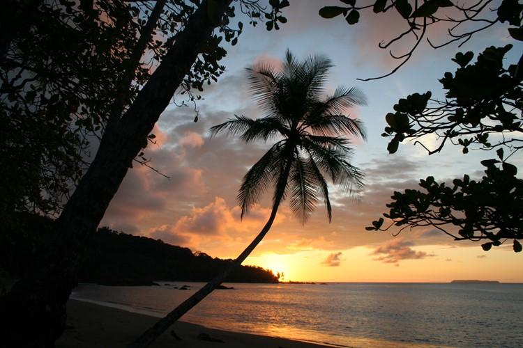 Reise Costa Rica - Sonnenuntergang Drake Bay