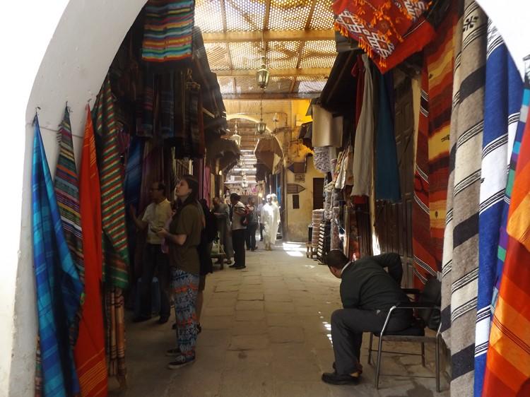 Souk van Marrakech - reis Marokko