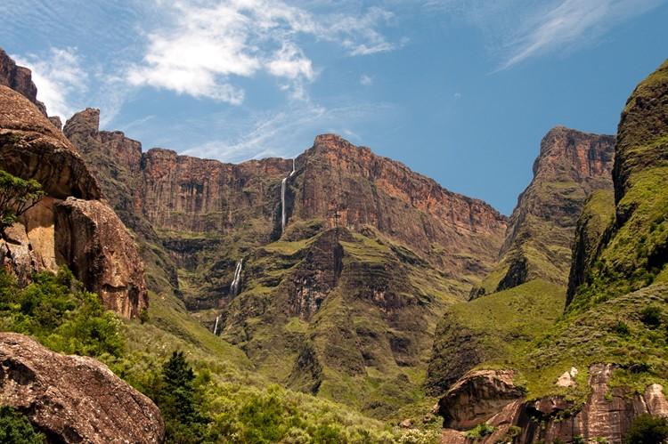 Drakensbergen, Royal Natal Nationaal Park, reis Zuid-Afrika