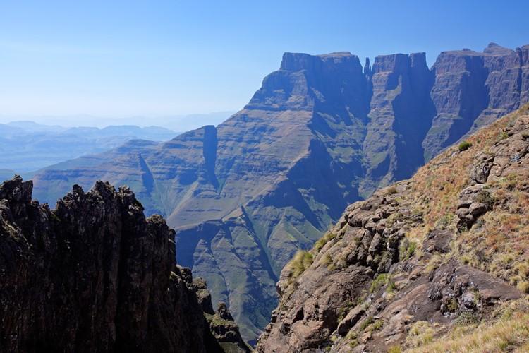 Hoge toppen van de Drakensberg - reis Zuid-Afrika