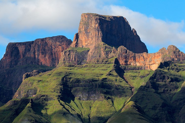 Sentinel Peak, Royal Natal Nationaal Park, Zuid-Afrika
