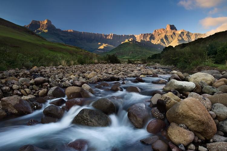 De Tugela rivier - reis Zuid-Afrika