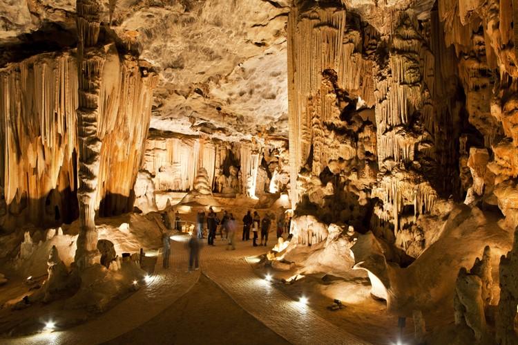 De Cango grotten nabij Oudtshoorn - reis Zuid-Afrika