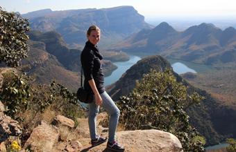 Lana in Zuid-Afrika