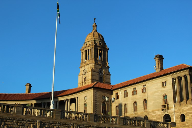 Union Buildings, Pretoria, Zuid-Afrika