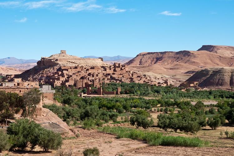 Reisebaustein Marokko - Ait Benhaddou