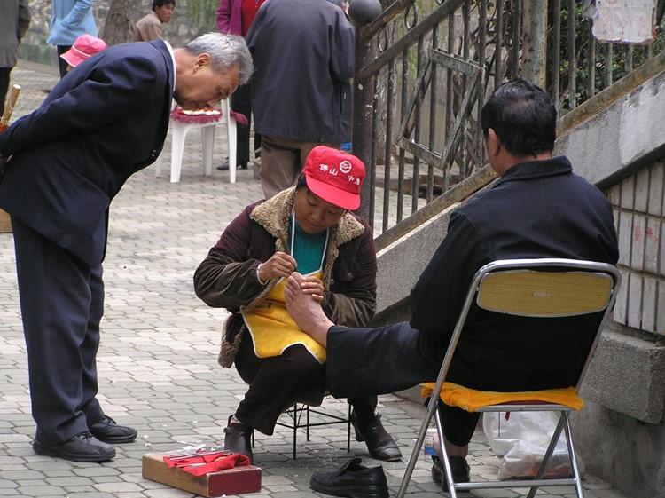 Op straat in Kunming
