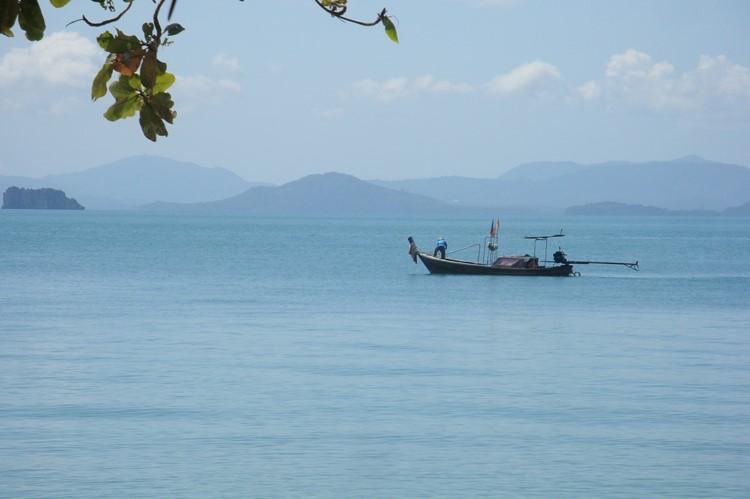 De zee bij  Koh Yao Yai