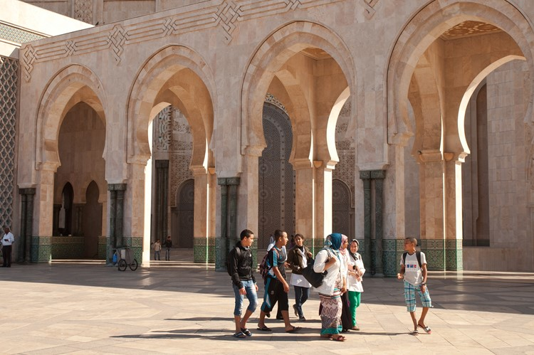 Koning Hassan II Moskee - Casablanca - Marokko