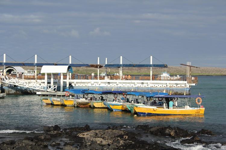 De haven van Santa Cruz - eilandhoppen langs de Galápagos - Ecuador
