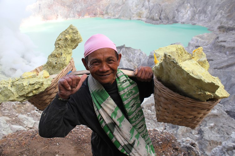 Ijen vulkaan - Java - Indonesië