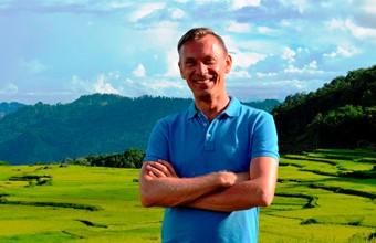 Wandelend door de rijstvelden van Tana Toraja