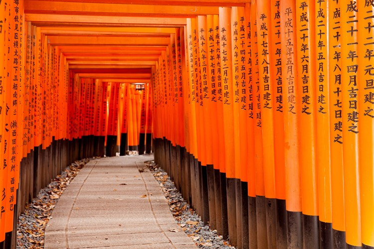 Fushimi Inari-taisha shrine in Kyoto